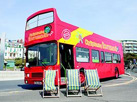Bournemouth tourist bus