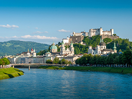 Salzburg from Vienna
