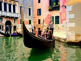 Gondola en Venecia