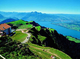 Rigi, the Queen of the Swiss Mountains and cruise