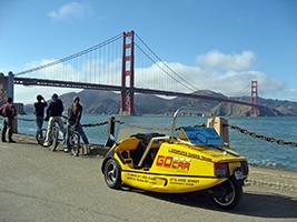 Golden Gate Bridge GoCar Tour