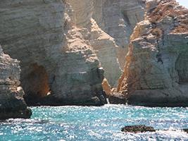 Paros - Cruise around Antiparos - Paros