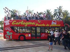 Cartagena Turistic bus