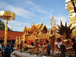 Markets And Temples Of Chiang Mai Tour From Hotel In Chiang Mai City Only (TCNX03)