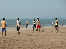 Sightseeing Of Juhu Beach