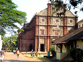 Sightseeing Of Old Goa