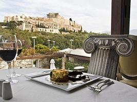 Restaurant Dionysos in Acropolis