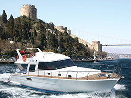 Private yachting service in Bosphorus
