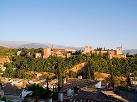 Alhambra guided tour and tourist GPS navigator for 24 hours