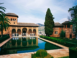 Alhambra Guided Tour with Flamenco Show and Dinner in Sacramonte