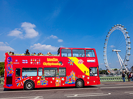 City Sightseeing in London - Hop on Hop off