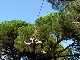 Parque Aventura - Tree climbing