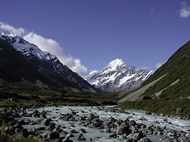Full Day Christchurch To Queenstown Via Mt Cook