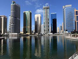 Evening Dubai dhow dinner cruise