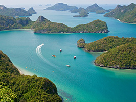Angthong National Marine Park By Local Boat