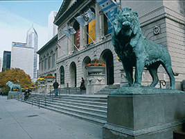 The Art Institute with Historic Chicago Tour