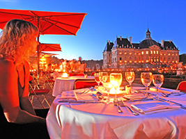 Dinner at Vaux le Vicomte + Cadleight Visit