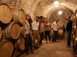 Premium cava and wine