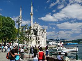 Bosphorus cruise and Dolmabahçe Palace visit