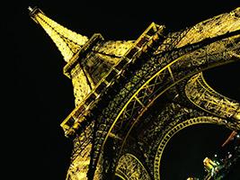 Illuminated Paris and Seine river cruise
