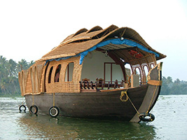 Backwater Cruise with Lunch at Alleppey