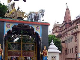 Full Day Temple of Mathura & Vrindavan (150 Kms)