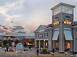 Shopping at Wrentham Village Outlets