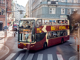 Big Bus Vienna Sightseeing Tour - Hop On - Hop Off