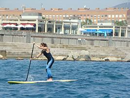 Pasea sobre el mar...en Paddle Surf