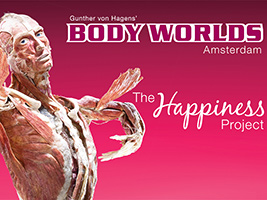 Combined package City tour hop on hop off and  Body Worlds