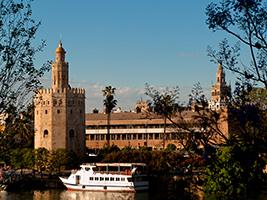 Recorrido por sevilla con crucero por el guadalquivir y ba os rabes sevilla andaluc a - Banos arabes cordoba ofertas ...