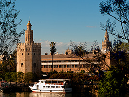Recorrido por sevilla con crucero por el guadalquivir y ba os rabes sevilla andaluc a - Sevilla banos arabes ...