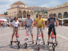 Athens electric tricycle tour