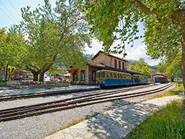 Kalavryta by train