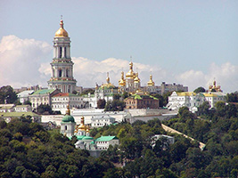 Visit to the city of Kiev