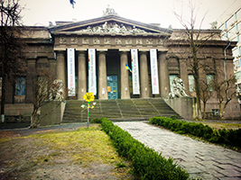 Visit to the Museum of Art in Ukraine and the Russian Art Museum