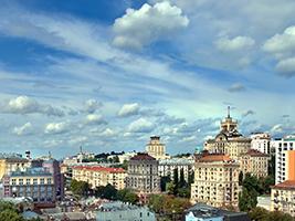 Visit to the Jewish quarter of Kiev