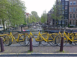 Small city bike tour