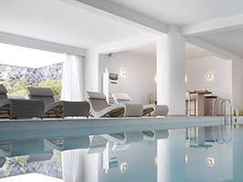 Spa treatments in Santorini