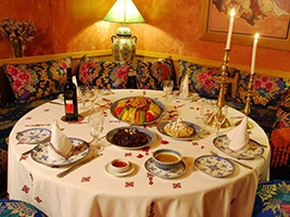 Traditional Moroccan dinner in Fez