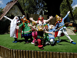 Asterix Park from Paris with transfer