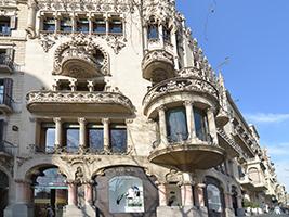 Entrada La Modernista E Impresionante Casa Lleó I Morera