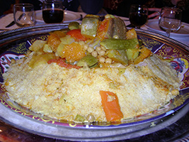 Traditional Moroccan dinner in the heart of Marrakech