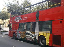 San Sebastian city tour - hop on-hop off