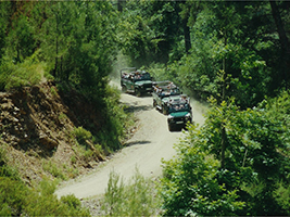 Off-road safari in Kemer
