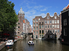 Canal Cruise by small boat