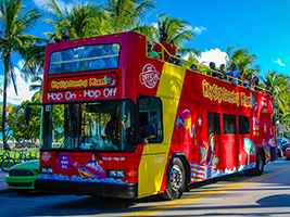Trip to Key West and hop on-hop off bus tour of Miami