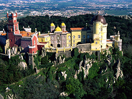Jeep tour of the Sintra area