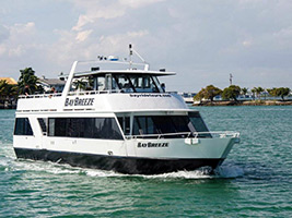 Biscayne Bay cruise and Hop-on Hop-off Miami bus tour