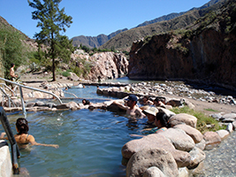 Thermal baths of Cacheuta